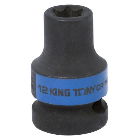 KING TONY (457512M) Головка торцевая ударная TORX Е-стандарт 1/2