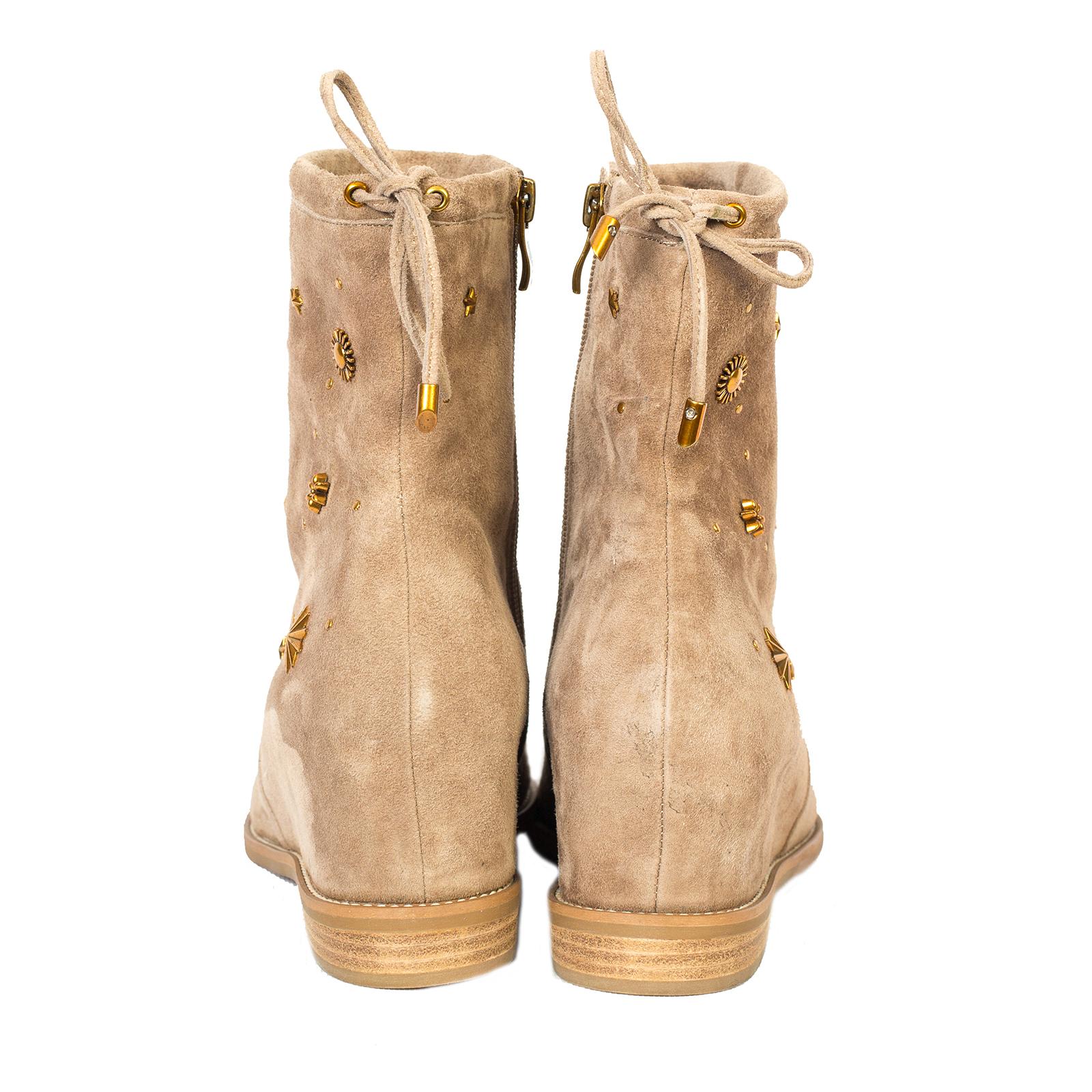 Ботинки, Ballerina, Beatris (бежевый)