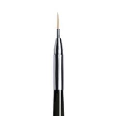 ruNail, Кисть для дизайна Nail Art Nylon, 6 мм №00/2