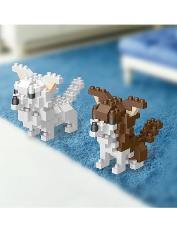 Конструктор Wisehawk Щенки чихуахуа 189 деталей NO. D5 Baby Chihuahua Gift Series