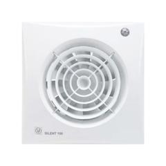 Вентилятор накладной S&P Silent 100 CDZ (таймер, датчик движения)