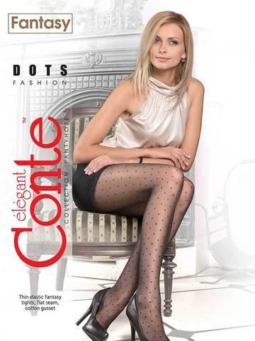 Женские колготки Dots Conte