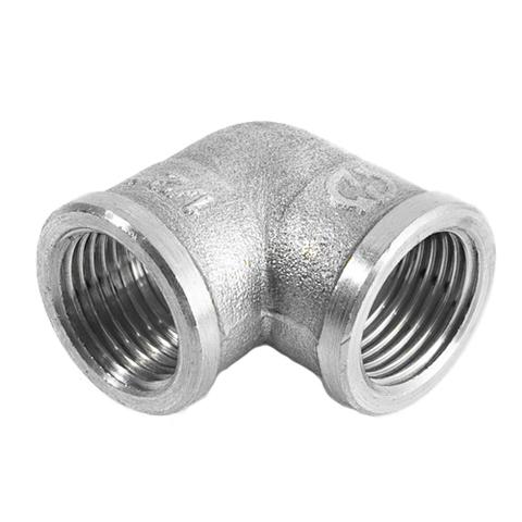 Отвод 90° латунный резьбовой равнопроходный STOUT (ВР/ВР) - 3/4
