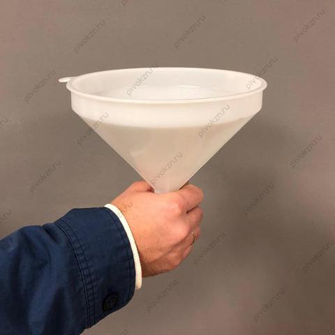 Воронка пластиковая с фильтром, 21 см