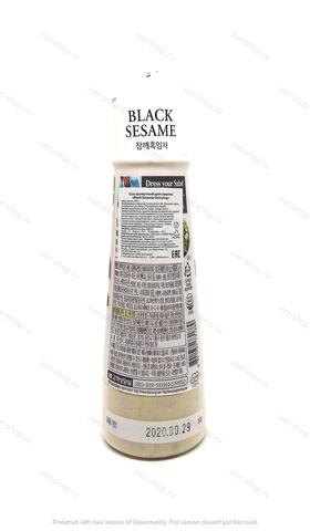 Корейский кунжутный соус Black Sesame Dressing, 300 гр.