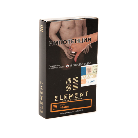 Табак Element (Земля) - Peach (Персик) 40 г