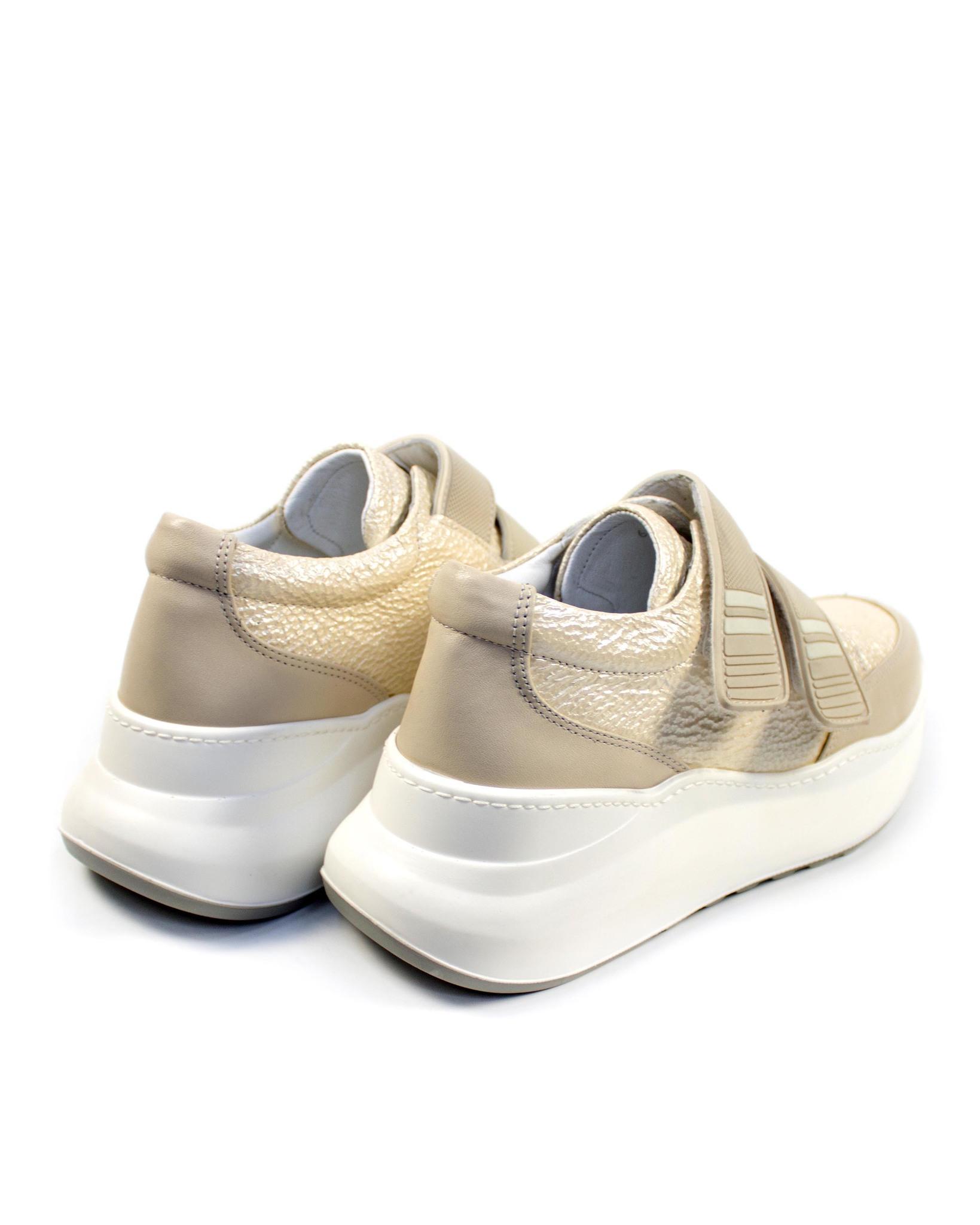 бежевые кроссовки Alpino
