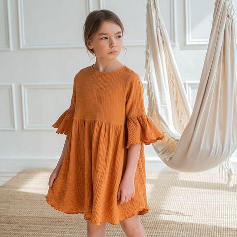 Платье муслиновое