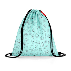 Мешок детский Mysac cats and dogs mint Reisenthel