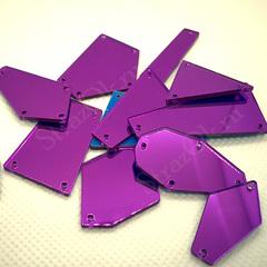 Купить пришивные зеркала аметист amethyst фиолетовые оптом