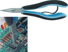Острогубцы для электроники, зубчатые губки 150 мм