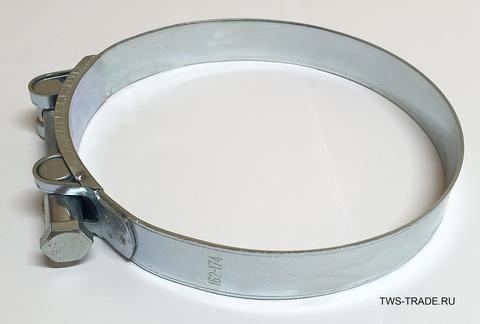 Хомут РОБУСТ 162-174 мм силовой