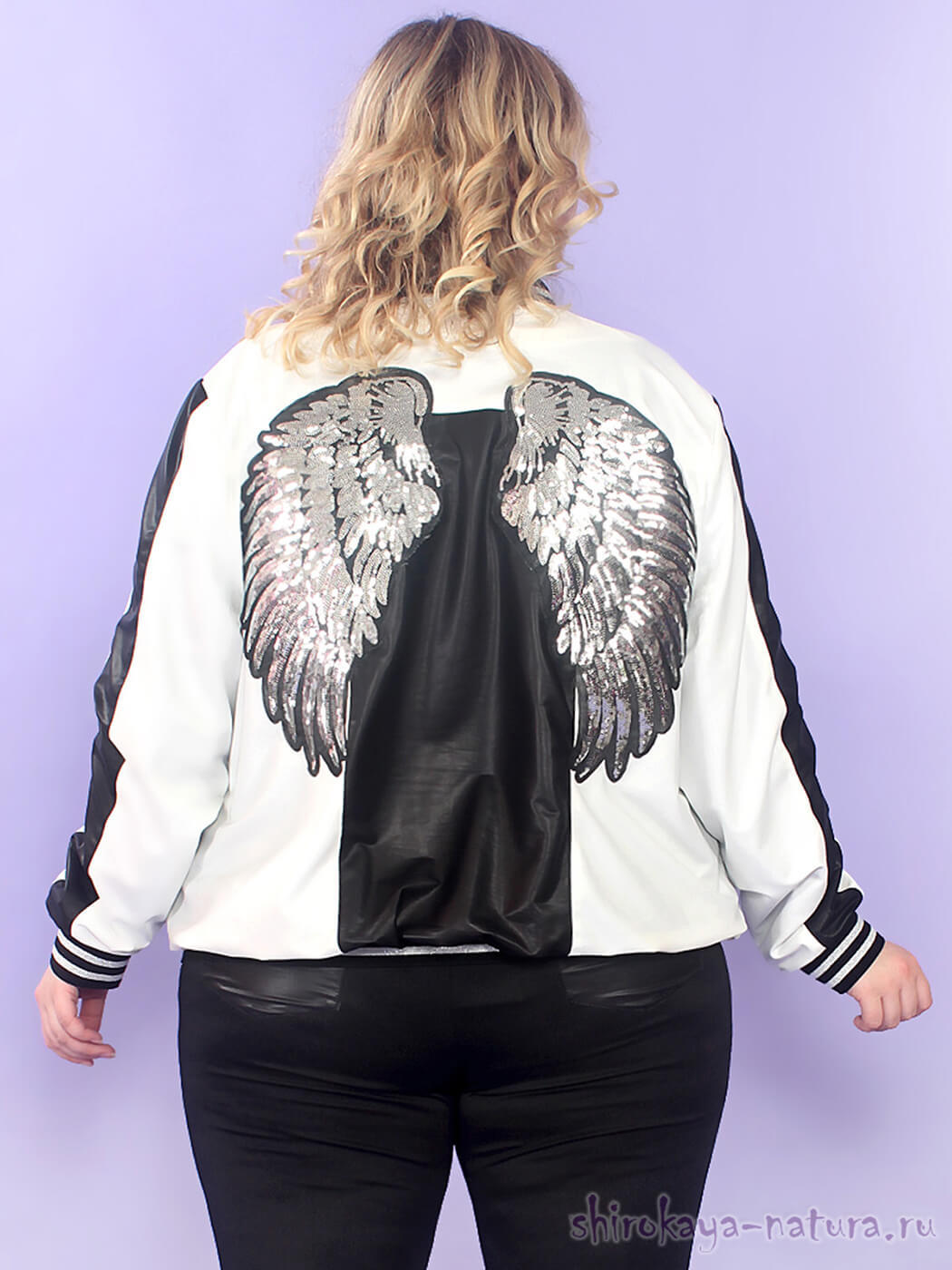 Бомбер Крылья Ангела