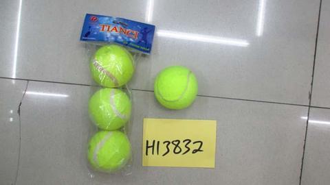 Набор мячей для большого тенниса (3 шт. в пакете), Н13832