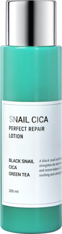 Esthetic House Тонер для лица с муцином улитки и центеллы - Snail cica perfect repair toner, 200мл
