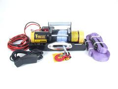 Лебедка переносная T-max ATW PRO 2500 с синтетическим тросом