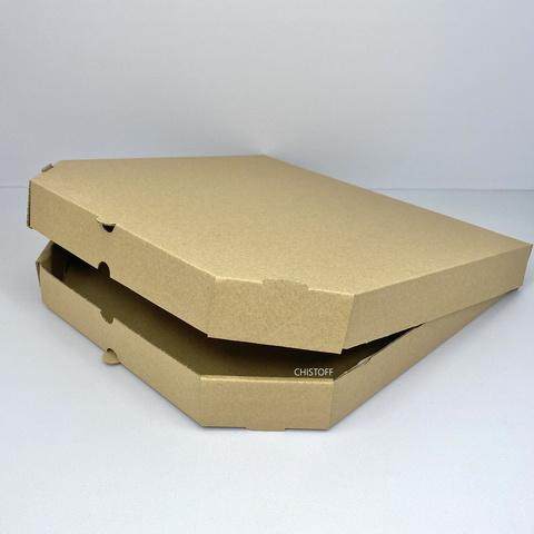 Коробка для пиццы 30 см бурая