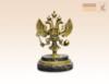 статуэтка Герб России на змеевике