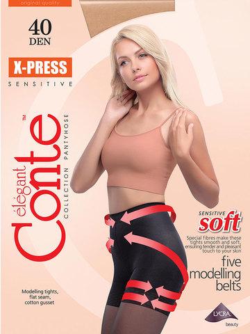 Женские колготки X-Press 40 XL Conte