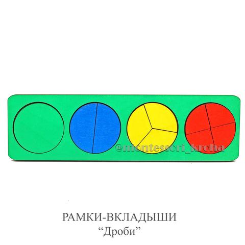 РАМКА - ВКЛАДЫШИ «ДРОБИ»