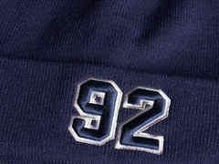 Шапка №92 синяя