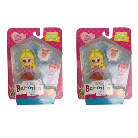 Куклы в наборе с аксессуарами 2, 1кор*45бл*8шт