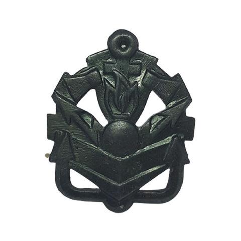 Эмблема петличная Инженерные войска, металл. защитный