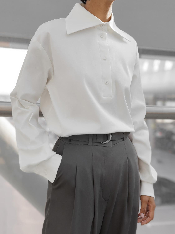 Рубашка Yvon с большим воротником