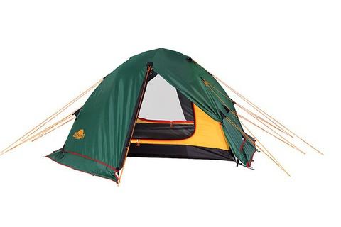 Картинка палатка туристическая Alexika RONDO 2 Plus green, 340x210x100  - 5