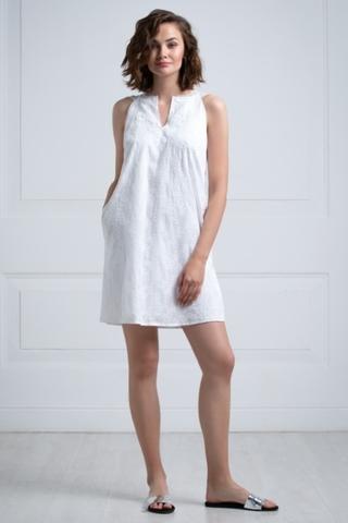LAETE  Платье из хлопка с вышивкой 61390-1