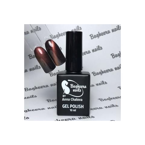 Bagheera Nails BN-81 Кошачий глаз 3D шоколад гель-лак 10 мл