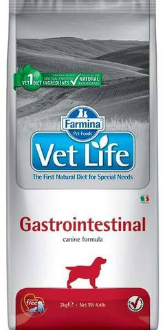12 кг. FARMINA Vet Life Сухой корм для собак при нарушениях работы ЖКТ Gastrointestinal