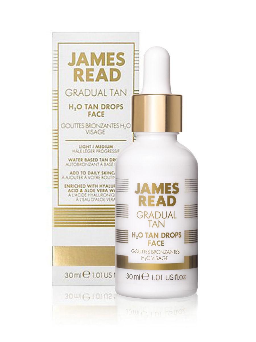 Капли-концентрат для лица James Read Gradual Tan H2O Tan Drops Face 30 мл