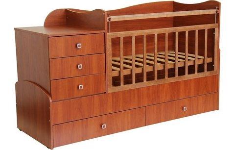 Кровать детская Фея 1400 орех