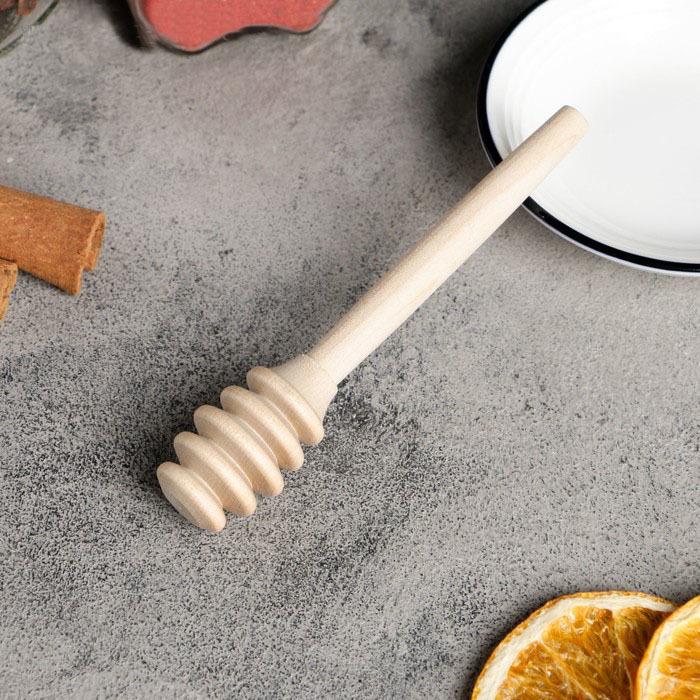 Фотография Ложка для меда деревянная купить в магазине Афлора