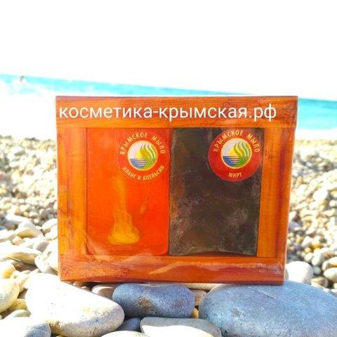 Натуральное мыло «Иланг и горький Апельсин+Мирт»™Фитон-Крым