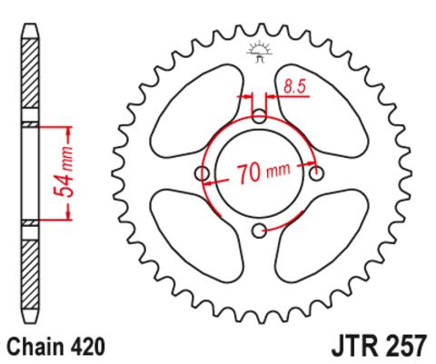 JTR257