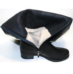 Сапоги женские зимние кожаные Kluchini 3913 BLEF