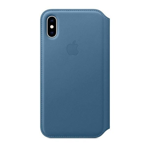Чехол для iPhone X / XS Folio - Кожаный