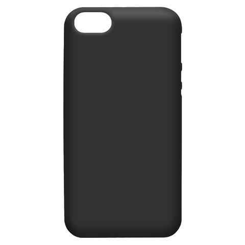 силиконовый чехол для iphone 7/8 черный