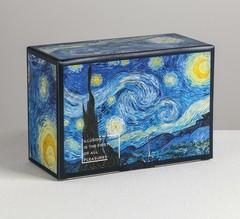 Коробка‒пенал «Ван Гог», 22 × 15 × 10 см, 1 шт.