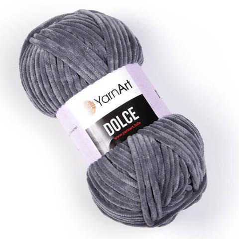 Пряжа Dolce (Дольче). Цвет: Серый. Артикул: 760