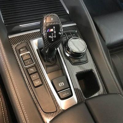 Карбоновая панель АКПП для BMW X5 M F85