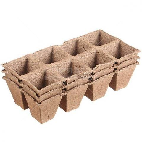 Горшочки торфяные, 70 х 70 см, 24 шт