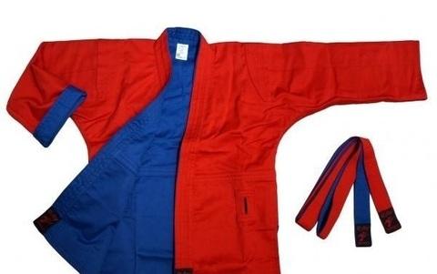 Куртка самбо двусторонняя. Рэй спорт