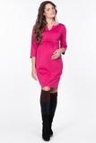Платье для беременных 09083 серый