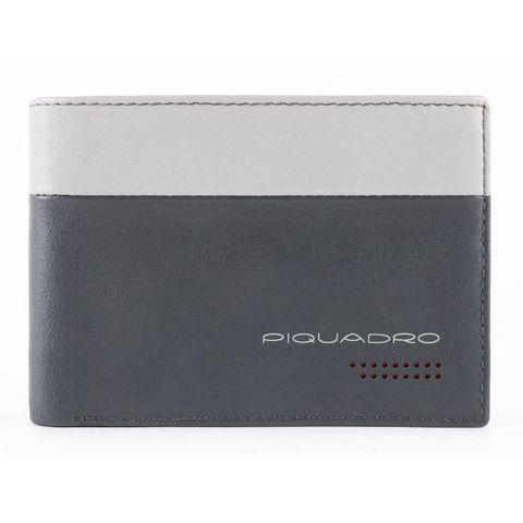 Кошелек мужской Piquadro Urban (PU1392UB00R/GRN) серый/черный