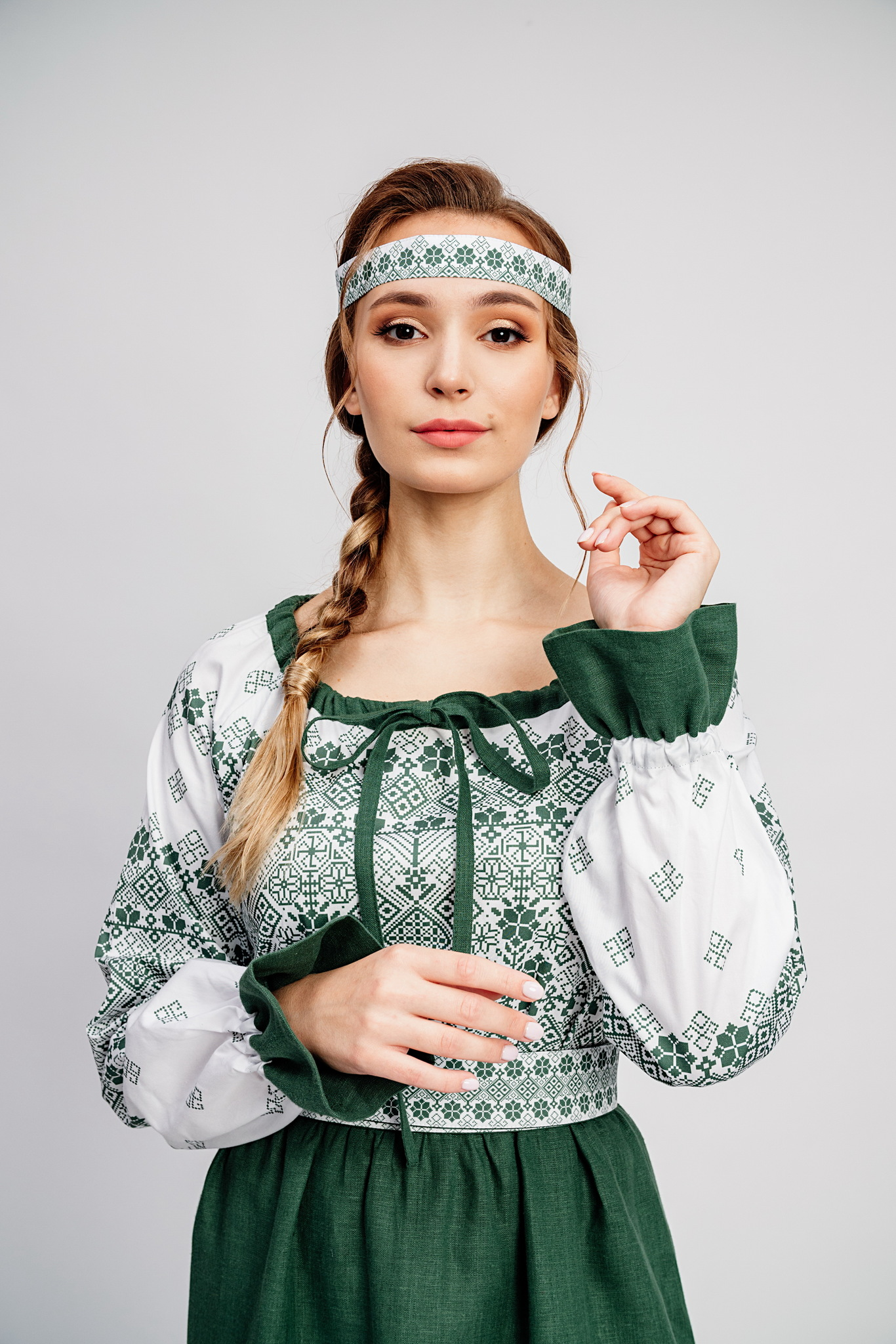 Народное платье в русском народном стиле