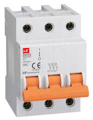 Автоматический выключатель BKN 3P D6 A