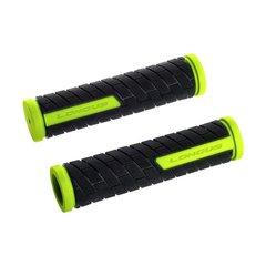 Ручки руля LONGUS, GRID Neone, желто/черные